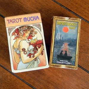 tarot collection of cards